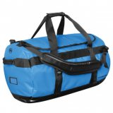 Ocean Blue/Black Waterproof Gear Bag Medium