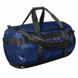 Electric Blue/Black Waterproof Gear Bag Medium