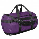 Purple/Black Waterproof Gear Bag Medium