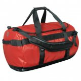 Bold Red/Black Waterproof Gear Bag Medium