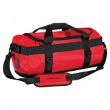 Bold Red/Black Waterproof Gear Bag Small
