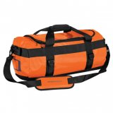 Orange/Black Waterproof Gear Bag Small