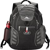 Black/Grey High Sierra Swerve Big Wig 17 in Computer Backpack