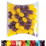 Clear Corporate Colour Mini Jelly Beans in Pillow Pack