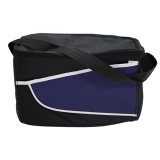 Black/Navy Nylon Cooler Bag Colored