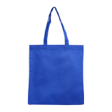 Blue Non Woven Bag Without Gusset
