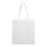 White Non Woven Bag Without Gusset