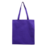 Purple Non Woven Bag Without Gusset