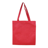 Red Non Woven Bag Without Gusset