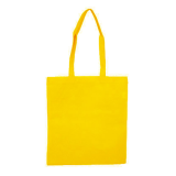 Yellow Non Woven Bag Without Gusset