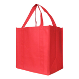 Red Non Woven Shopping Bag Large