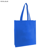 Blue Non Woven Bag With Large Gusset