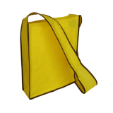 Yellow Non Woven Sling Bag