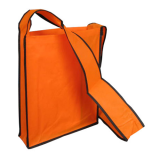 Orange Non Woven Sling Bag