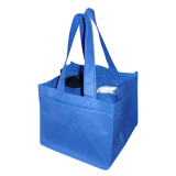 Blue Non Woven 4 Coffee Cups Bags