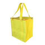 Yellow Non Woven Cooler Bag With Zipped Lid