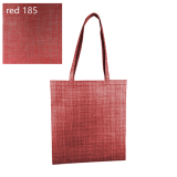 Red Silver Line Paterned Non Woven Bag