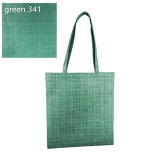 Green Silver Line Paterned Non Woven Bag