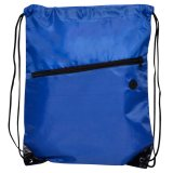 Blue Nylon Tech Travel Backpack