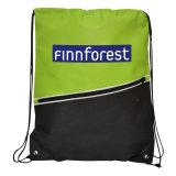 Lime Non-Woven Library Backpack