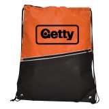 Orange Non-Woven Library Backpack
