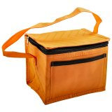 Orange Green Insulated Lunch Pack