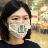Reusable Face Mask Full Colour - Large Feature