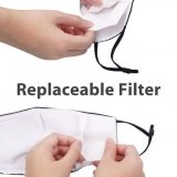 Reusable Face Mask With Filter irreplaceable filter