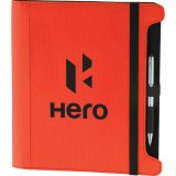 Red Decorated Intersections Portfolio for iPad® - Black