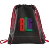 Red Neon Deluxe Drawstring Sportspack