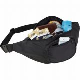 Black The Hipster Deluxe Waist Pack