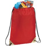 Red Metallic Accent Drawstring Sportspack 03