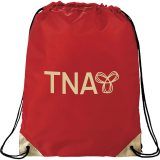 Red Metallic Accent Drawstring Sportspack 04