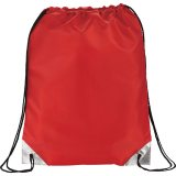 Red Metallic Accent Drawstring Sportspack 07
