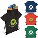 Group Image The T-Shirt Drawstring Cinch Backpack