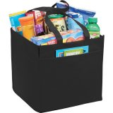 Black Solid The Squared Away 100g Tote