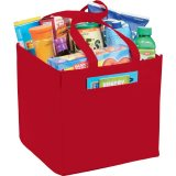 Red Sideways  The Squared Away 100g Tote