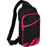 Pink decorated Flash 12\'\' Tablet Sling Backpack