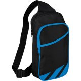 Blue decorated Flash 12\'\' Tablet Sling Backpack