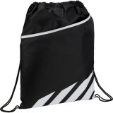 White Front View Flash Drawstring Sportspack