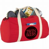 Red The Cotton Barrel Duffel