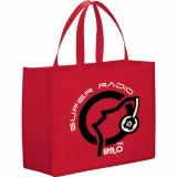 Red Printed The Mystic Shopper Tote