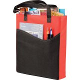 Red w/ Black Trim The Rivers Pocket Convention Tote