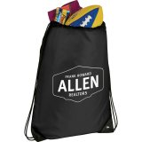 Black Catch All Drawstring Sports pack