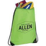 Green Catch All Drawstring Sports pack