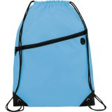 Light Blue The Robin Drawstring Backpack