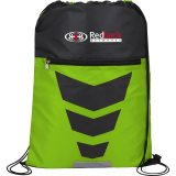 Green Courtside Drawstring Sportspack - Green