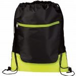 Lime Green The Libra Drawstring Cinch Backpack