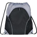 Black The Marathon Drawstring Cinch Backpack