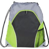 Lime Green The Marathon Drawstring Cinch Backpack